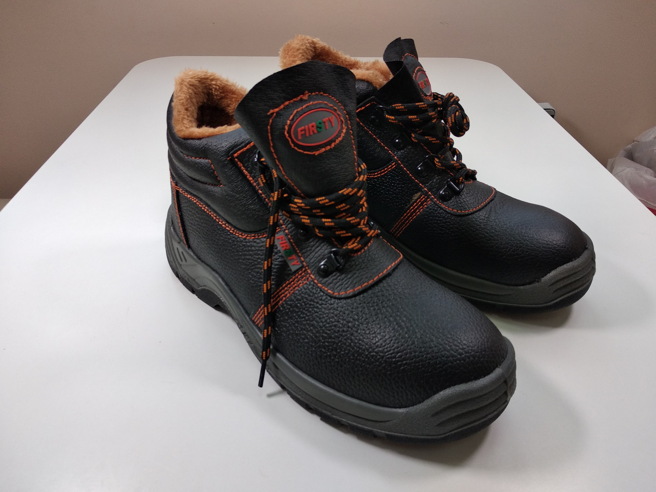Ботинки рабочие FIRSTY (кожа) зимние