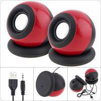 Компьютерная акустика (USB-колонки) G-116 красный, фото 1