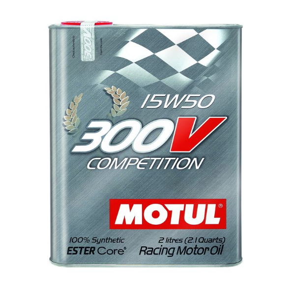Масло моторное Motul 300V Competition 15W-50 2л