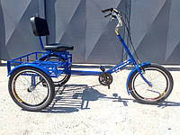 Велосипед трехколесный для взрослых и подростков «Атлет малый» RYMAR R-V-00114