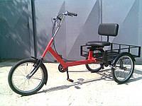 Велосипед трехколесный грузовой для взрослых «Атлет большой» RYMAR R-V-00118
