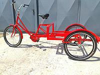Велосипед трехколесный грузовой для уличной торговли «Рекламный» RYMAR R-V-01020