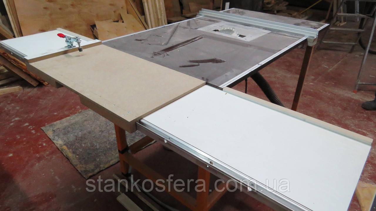 Розпилювальний стіл Makita з рухомою кареткою