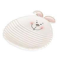 """Блюдо """"Пасхальный кролик"""" (19х16 см.)"""