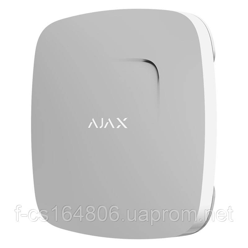 Ajax FireProtect Original – Беспроводной датчик дыма с сенсором температуры (White)