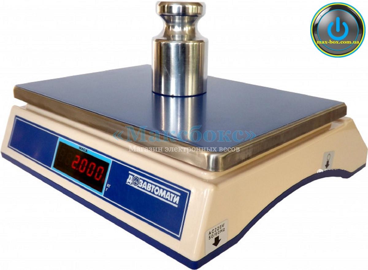 Весы фасовочные с поверкой 15 кг ВТНЕ 3Н1-1 (Дозавтоматы)