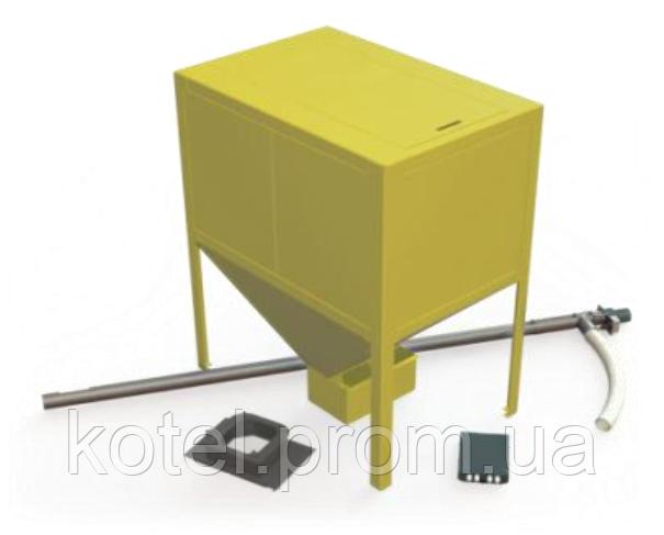 Дополнительная комплектация пеллетной факельной горелки Kvit 75 кВт