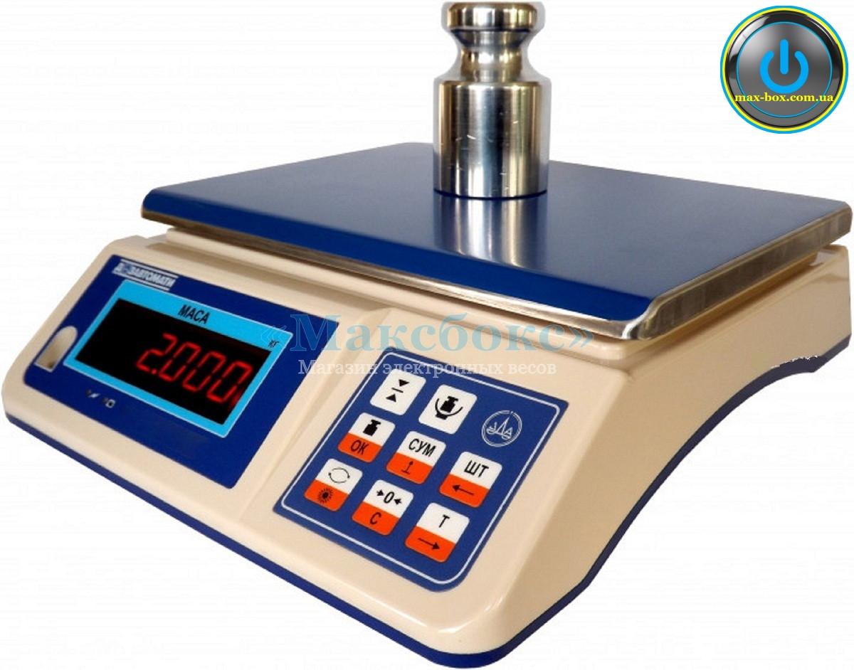 Весы фасовочные с поверкой 6 кг ВТНЕ 3Н1-1 (Дозавтоматы)