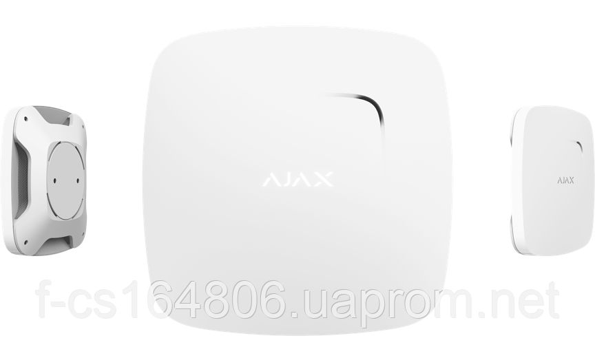 Ajax FireProtect Plus – Беспроводной датчик детектирования дыма и угарного газа (White)