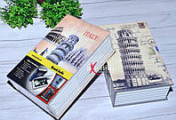 """Книга - сейф """"Италия"""", """"Пизанская башня"""", фото 1"""