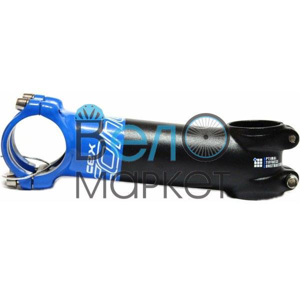 """Вынос руля Concept CEX Ultra Light (черный с синим) 31.8/120мм/1.1/8"""""""