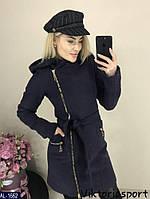 Женское пальто с капюшоном, фото 1