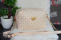 Женская сумка с короной.