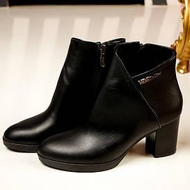 Ботинки женские  №198-кожаные (36-41)