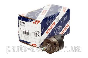Датчик паливної рейки ( Редукційний клапан ) Renault Trafic з 2001 1,9 DCI BOSCH 0281002483, 7701052268