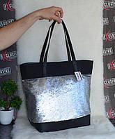 Стильная сумка с паетками. Хит сезона., фото 1