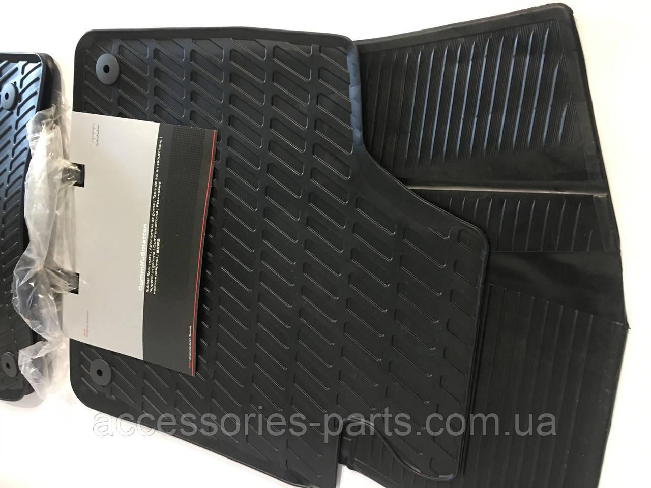 Коврики в салон резиновые Audi A3 04-2013 Новые Оригинальные
