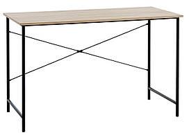 Стол офисный  письменный на металлических ножках 120 см