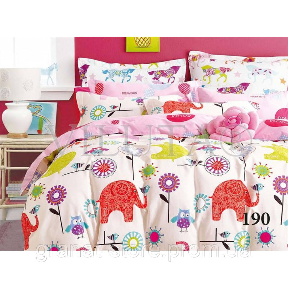 190 Комплект постельного белья детский Сатин