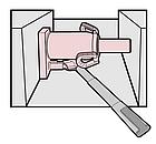 Домкрат бутылочный MEGA 20т (234мм-459мм), фото 4