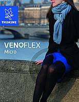 Чулки Venoflex Micro (22-32 мм.рт.ст.) стандартные с открытым носком, цвет карамель, размер 1