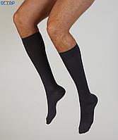 Компрессионные гольфы мужские Venoflex Elegence (15-20 мм.рт.ст.) стандартные с закрытым носком, цвет черный, размер 1