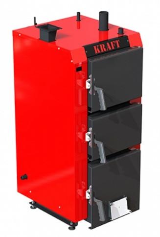 Котел длительного горения Kraft серия S 30 кВт с ручным управлением (Крафт )