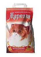 Маркиза Крупный Наполнитель для кошачьих туалетов с ароматом лаванды (2,5-5мм), 5 кг