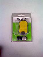 Держатель для мобильного телефона на магните (желтый)