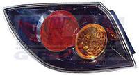 Фонарь задний правый без патрона внешний (черный) H/B  MAZDA 3 216-1964R-UQ DEPO
