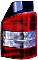 Фонарь задний правый, без патрона (бело-красный) 1-дв. VW TRANSPORTER V 441-1957R-UE-CR DEPO