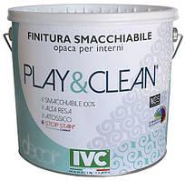 Моющаяся краска для стен Play and Clean. IVC