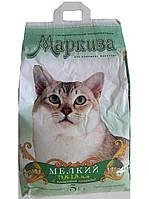 Маркиза Мелкий Наполнитель для кошачьих туалетов с ароматом лаванды (0,8-1,5мм), 5 кг