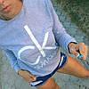Свитшот  женский CALVIN KLEIN Ткань: качественная турецкая двунить !Размеры: универсал 42-46, фото 2