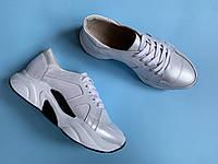 Кроссовки 509-5 белый перламутр  (идеал 21913 бело-черн), фото 1