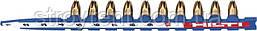 Патрон Hilti Cal.27 long 6,8/18 M40 (синий) лента 40 патронов