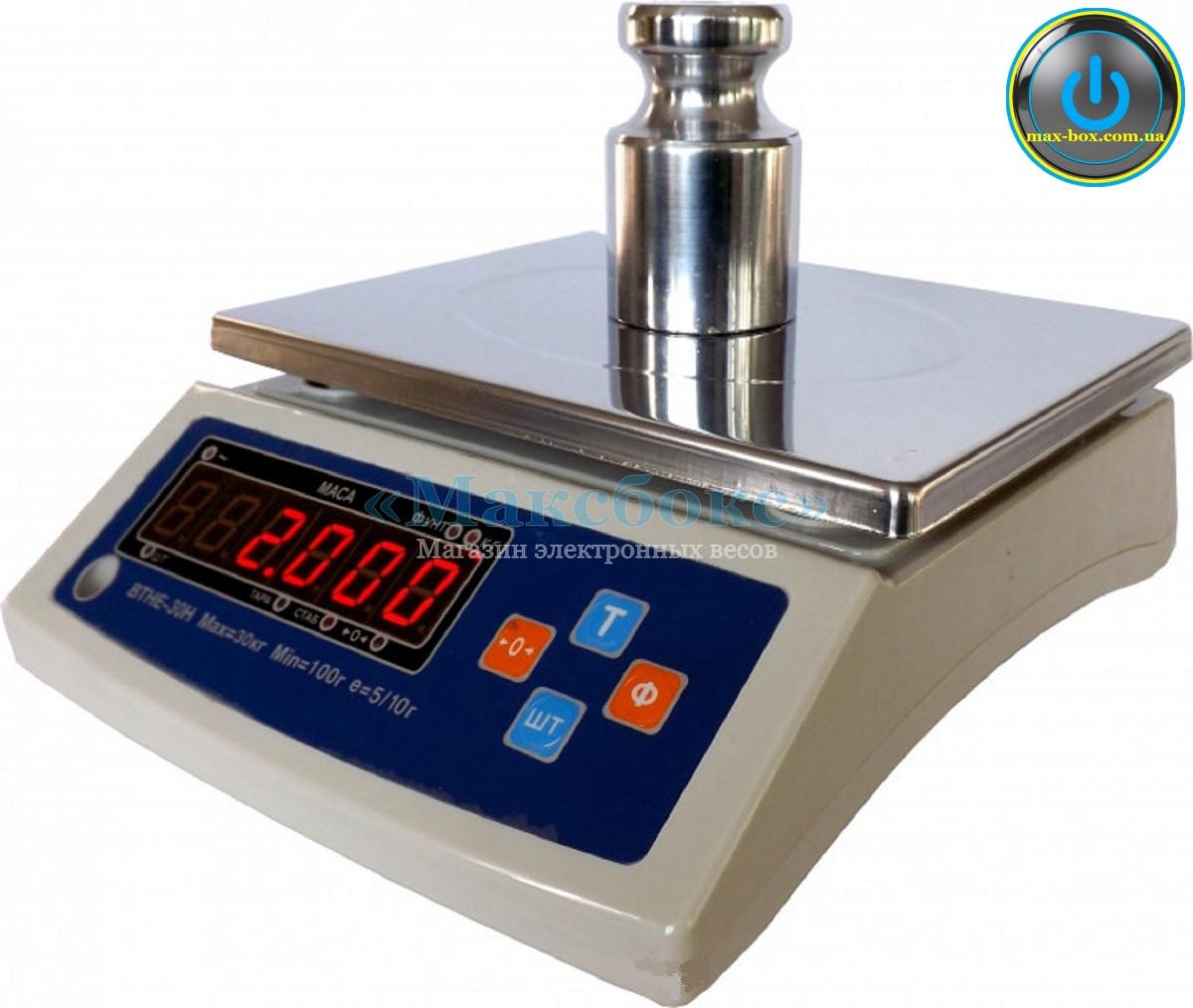 Весы фасовочные с поверкой 15 кг ВТНЕ 15Н (Дозавтоматы)