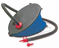Насос ножной механический Intex 69611 Bellows Foot Pump 29см: 3 насадки