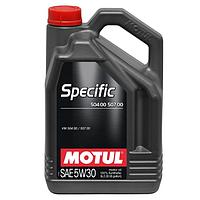 Масло моторное Motul Specific 504.00-507.00 5W-30 5л