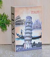 """Книга - сейф """"Пизанская башня""""., фото 1"""