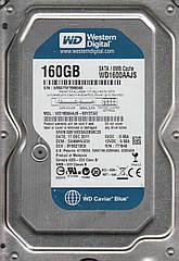 Жесткий Диск WD 3,5 160Gb, HDD, SATA |||- Б/У