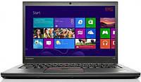 Ноутбук Lenovo ThinkPad T450s-Intel Core i5-5300U-2,30GHz-8Gb-DDR3-500Gb-HDD-W14-W7P-Web-батерея - Б/У