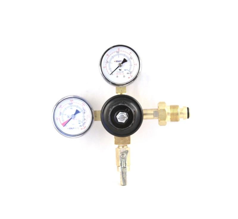 "Регулятор давления азота для нитро-кофе установки, 2 выхода, 1/4"", TapRite, США"