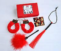 "Эротический набор ""Sexy Weekend Box RED""., фото 1"