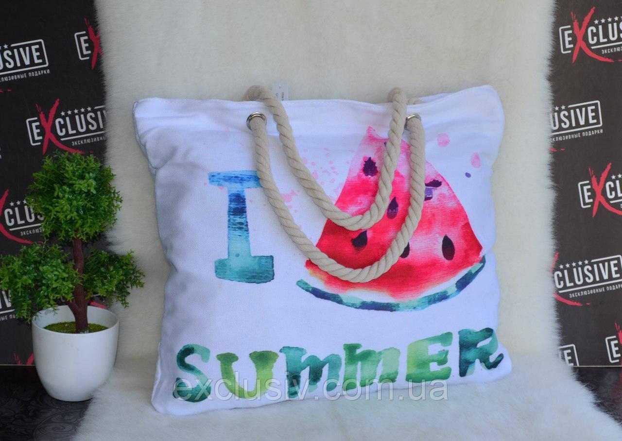 3e86612c47f4 Женская тканевая пляжная сумка Арбуз: продажа, цена в Чернигове ...