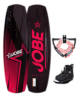 Комплект для Вейкбординга Jobe Vanity 141 Red + Republik Bindings (278815011-8-11)