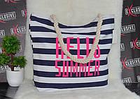 Пляжная сумка с принтом  Hello summer., фото 1