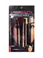 "Набор кистей для макияжа ""Huda Beauty"", 7шт"