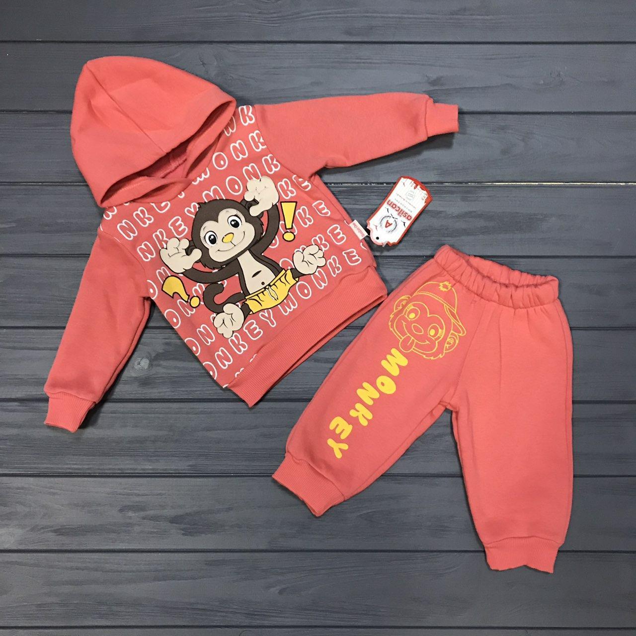 15c4ec77 Детский костюм спортивный тёплый с начёсом для девочек оптом р.1-2-3 ...