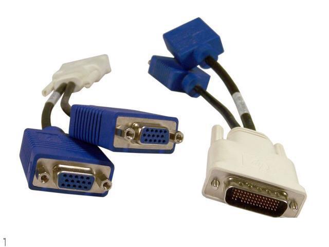 DMS-59 2 VGA Dual переходник HP 338285-008 rev. A